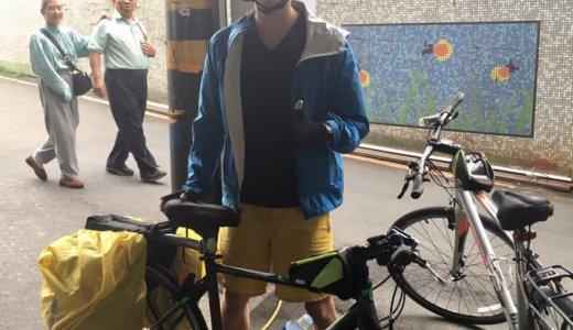 台湾自転車一周旅行 Day1 台北~新竹