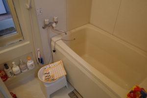 きれいになった風呂
