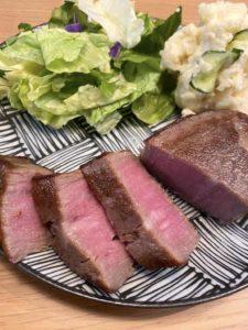真空調理した肉