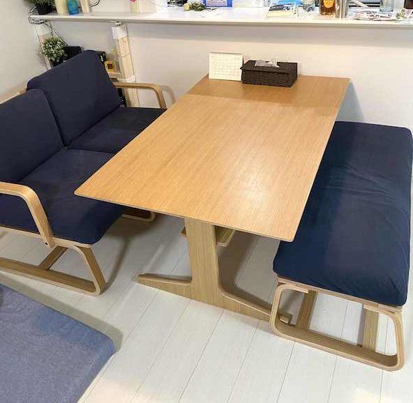 無印のダイニングテーブル