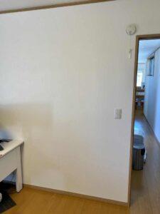 壁掛けテレビ設置場所