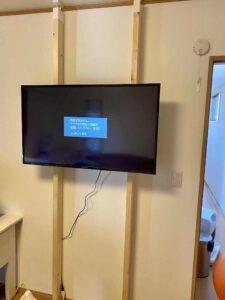 TVを載せた